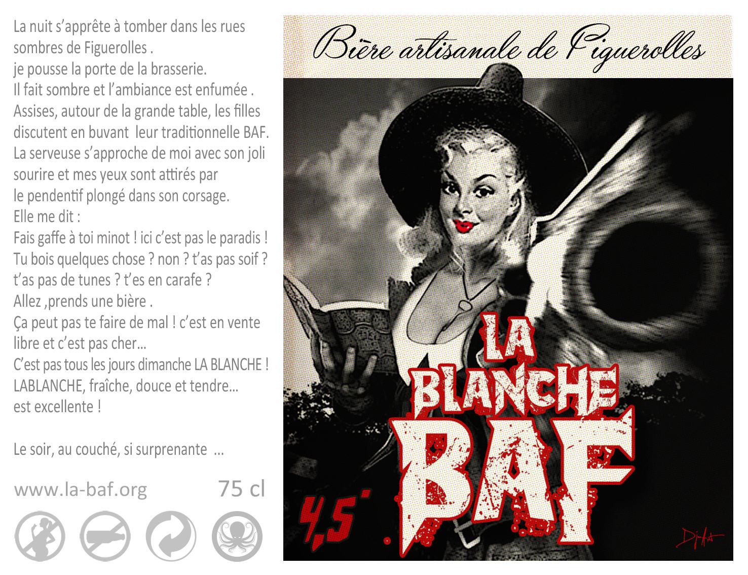 LA blanche BAF