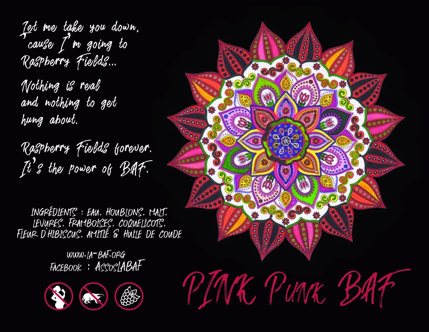 Pink Punk baf