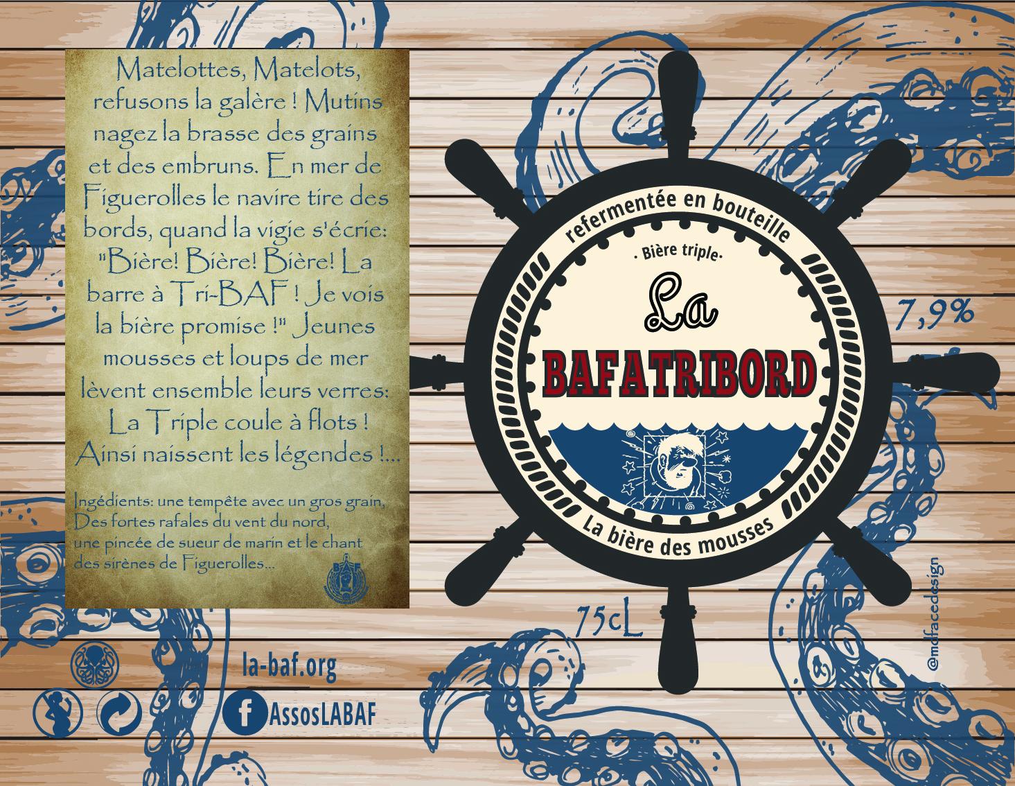 étiquette BAFATRIBORD
